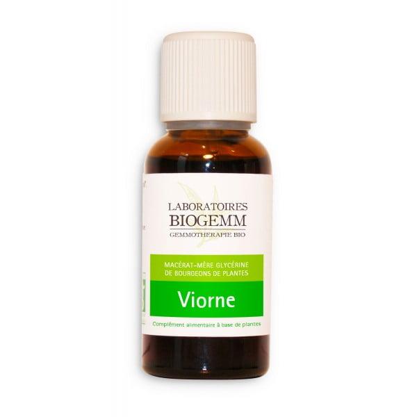 gemmotherapie viorne macerat